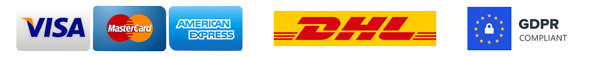 payment credit cards dhl delivery gdpr compliant